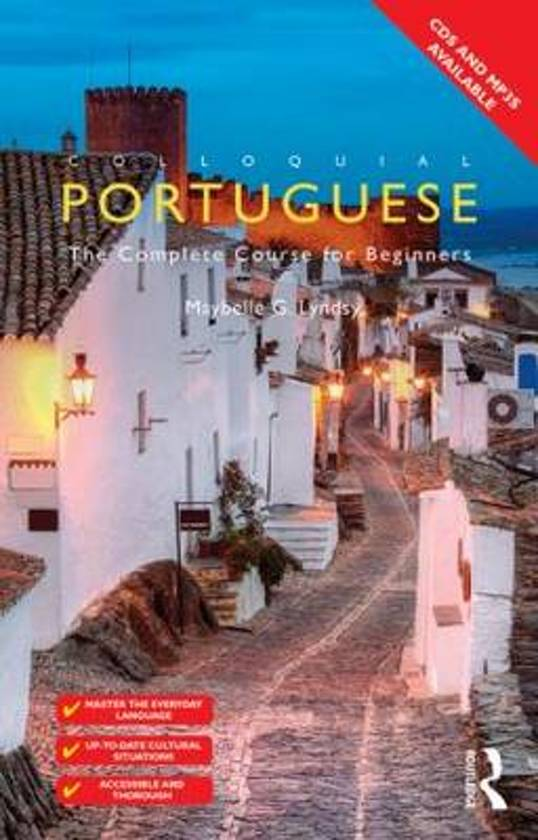 Boek cover Colloquial Portuguese van Barbara Mcintyre (Paperback)