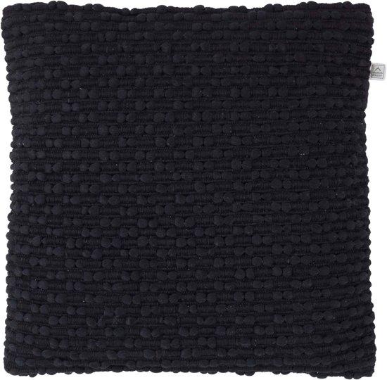 Dutch Decor Sierkussen Nymo 45x45 cm zwart