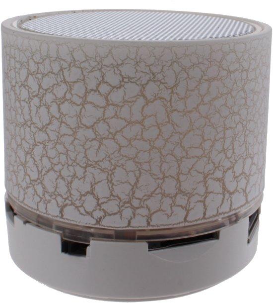 Kamparo Bluetooth Speaker Colour Changing 6 Cm Wit