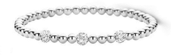 Moments Armband  25157AW Zilver
