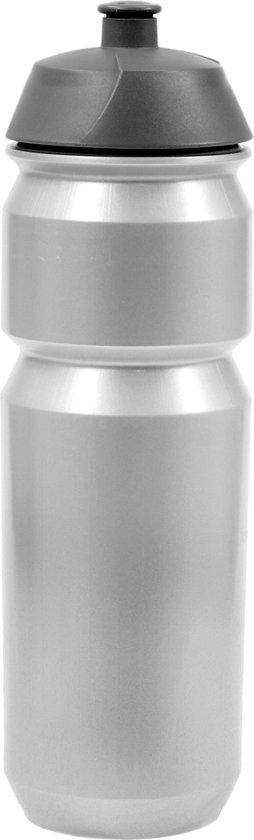 Tacx Shiva Bidon - 750 ml - Zilver