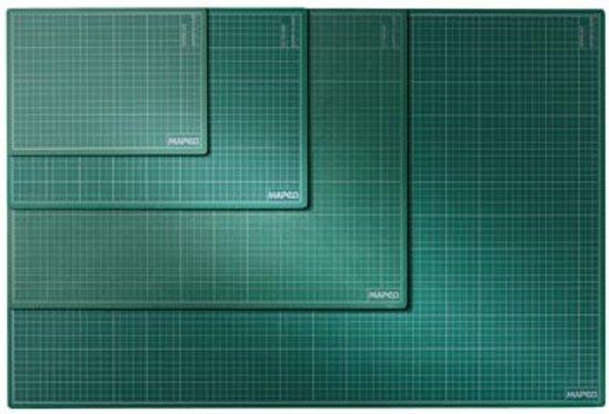 Snijmat A3 formaat (300 mm x 450 mm) - groen