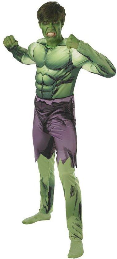Hulk Kostuum | Opgefokte Spierbundel Hulk | Man | One size | Carnaval kostuum | Verkleedkleding