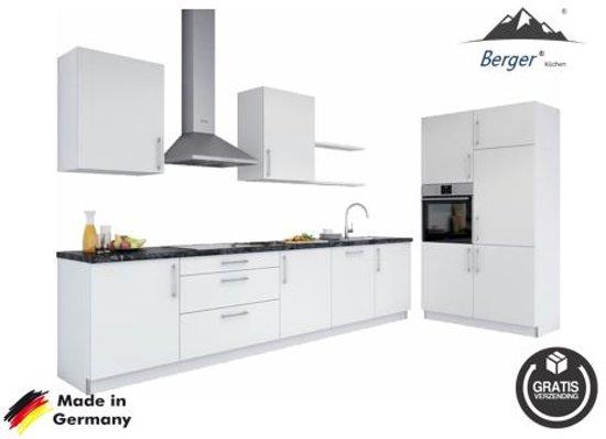 Berger® keuken  'Bremen' compleet incl. apparatuur, 330 cm.