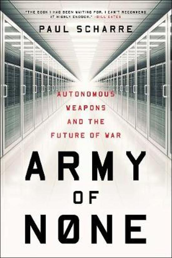 Boek cover Army of None van Paul Scharre (Paperback)
