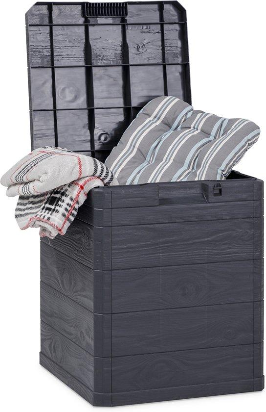 Opbergbox Voor Tuingereedschap.Maxxgarden Kussenbox Opbergbox Voor Kussen Rotan 90l 43x44x50cm