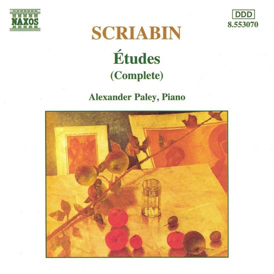 Scriabin: etudes (Complete) / Alexander Paley