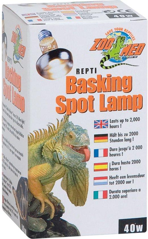 ZM Repti Basking Spot Lamp - 40 w.
