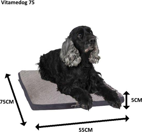 Trendpet Hondenkussen VitaMeDog - 75 x 55 cm grijs