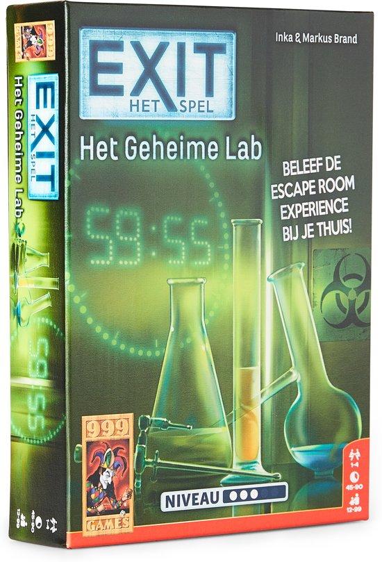 EXIT - Het Geheime Lab Bordspel