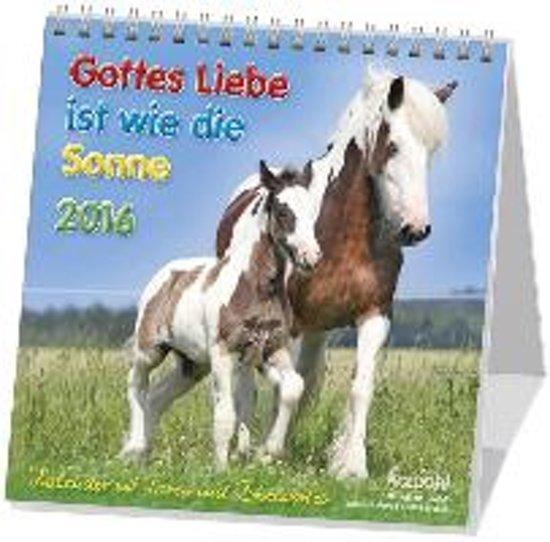Gottes Liebe ist wie die Sonne 2020. Postkarten-Kalender