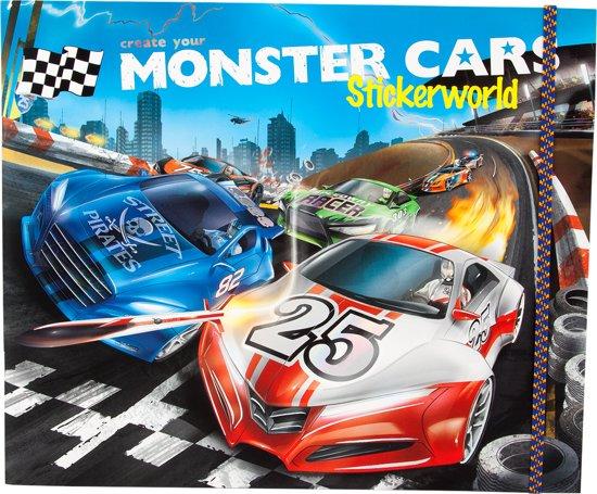 Bol Com Monster Cars Stickerworld