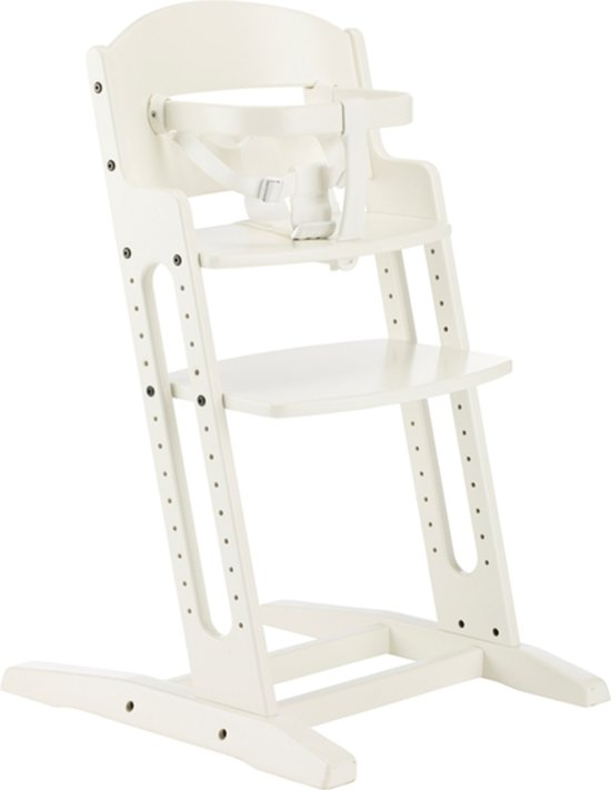 Baby Dan Meegroeistoel.Babydan Dan High Chair Kinderstoel Wit