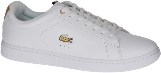 43bb7b703eee48 Lacoste Carnaby EVO 118 3 SPM Sneaker Heren Sneakers - Maat 45 - Mannen -  wit