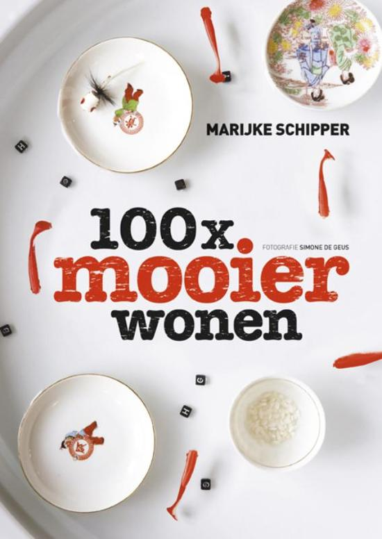 Cover van het boek '100x mooier wonen'