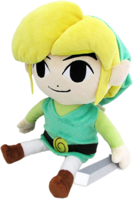 Legend of Zelda: The Wind Waker - Link 20 cm Knuffel