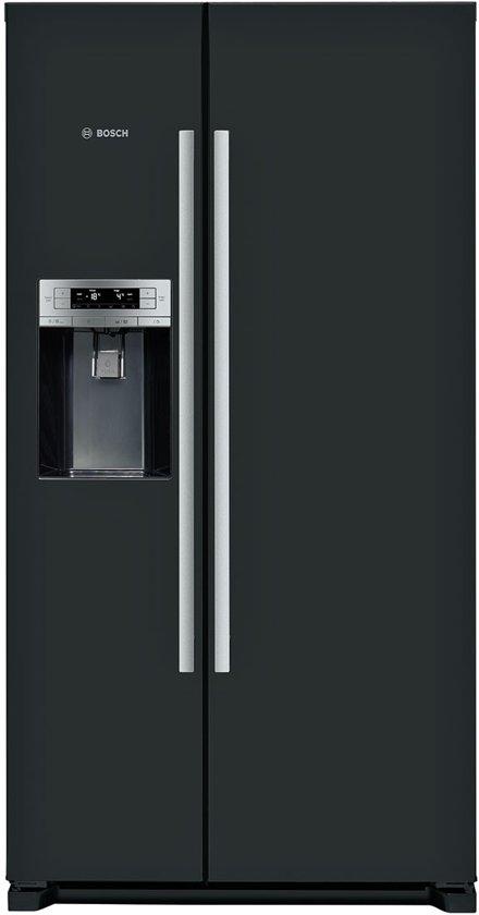 Bosch KAD90VB20 Amerikaanse koelkast - Zwart