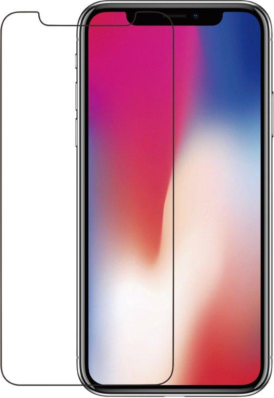 Azuri screenprotector flat tempered glass RINOX ARMOR - Voor Apple iPhone X, Apple iPhone XS & Apple iPhone 11 Pro - Zwart - 2 stuks