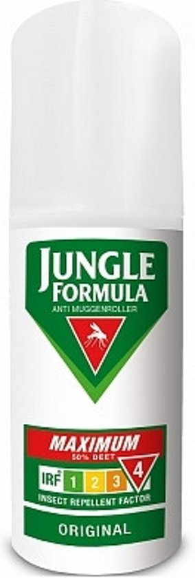 Jungle Formula Maximum Roll on - Muggen roller - 50% DEET - 50ml - Muggenbescherming