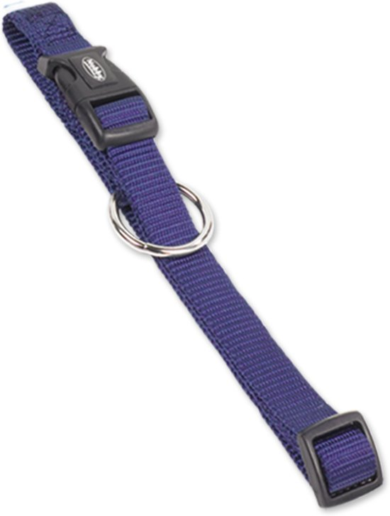 Nobby halsband classic blauw 30-45 x 1,5 cm - 1 st