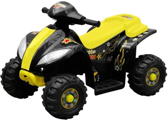 Super bol.com | vidaXL Kinder Quad elektrisch 6 volt geel 80052, vidaXL MU-92