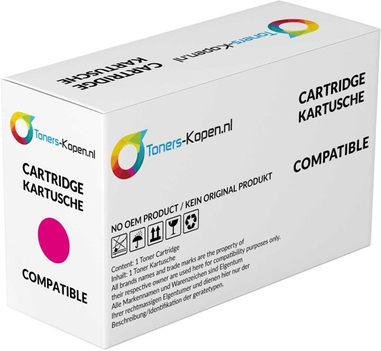 Canon 4368B002 729 M magenta alternatief - compatible Toner voor Canon 729M LBP7010c LBP7018c magenta Toners-kopen_nl