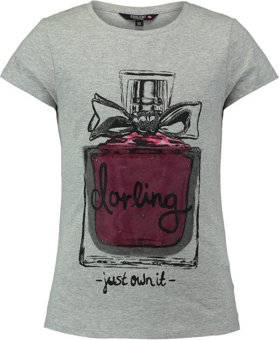 4f324a6b9580e8 Coolcat T-shirt T-shirt Eparfume - Licht Grijs Melange - 122 128