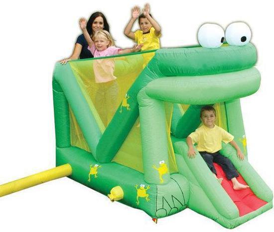 Stars Bouncer - Bouncing Frog +/- 233x149x172cm