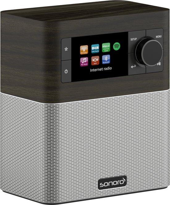 Sonoro STREAM - DAB+ radio - internet radio - aptX BlueTooth