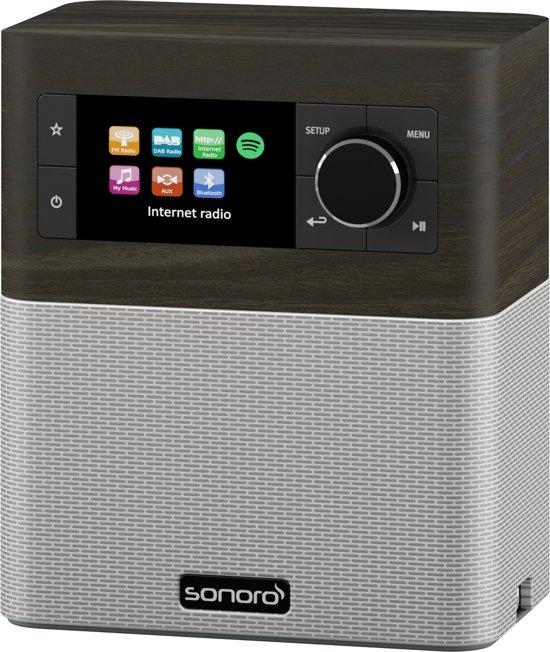 Sonoro STREAM - DAB+ radio - internet radio - aptX BlueTooth