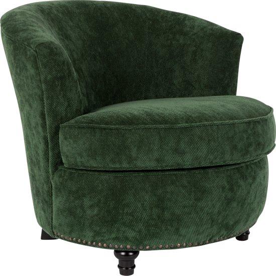 Mooie Groene Fauteuil.Dutchbone Lounge Chair Freux Fauteuil Groen
