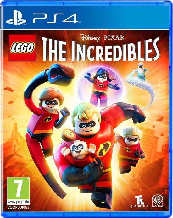 LEGO Disney Pixar's: The Incredibles - PS4