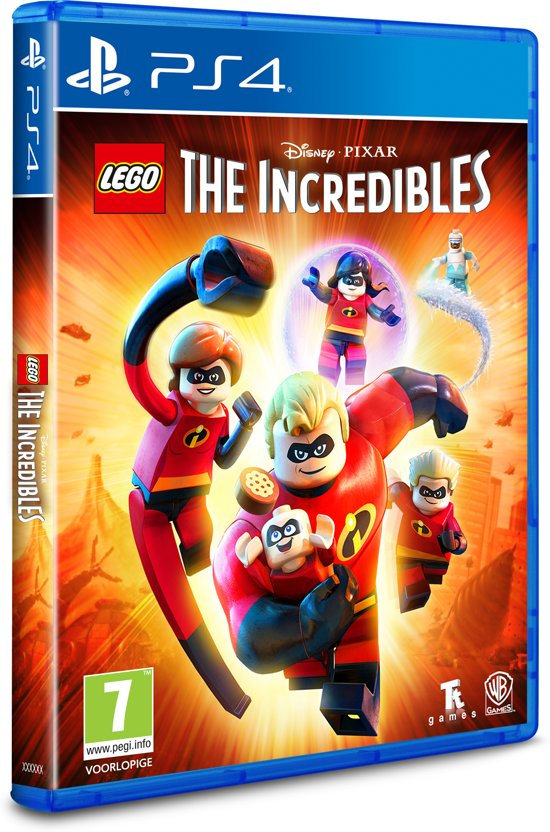 LEGO: The Incredibles PS4