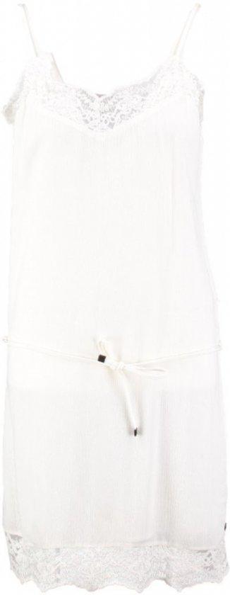 Garcia gevoerd jurkje spring white - Maat XL