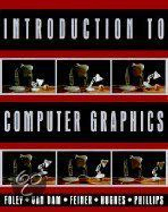 Boek cover Introduction to Computer Graphics van James D. Foley (Hardcover)
