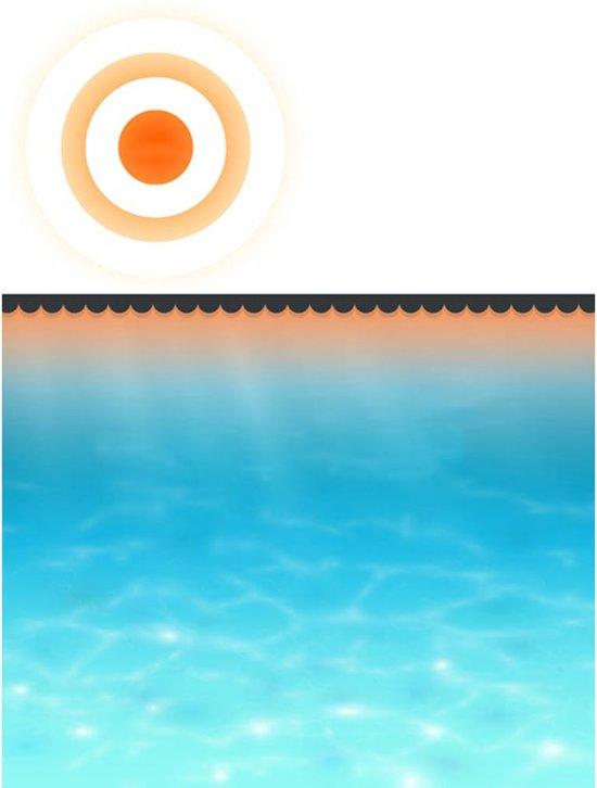 vidaXL - Zwembad Zwembad afdekzeil zomer 8 x 5 m (zwart) 90341