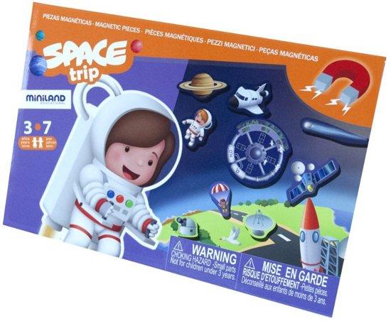 Afbeelding van het spel SPACE TRIP, magnetisch spel voor onderweg