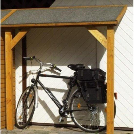 Fabulous bol.com | Afdak voor fietsen 178 x 70 x 188 cm - set van 2 stuks &CP09