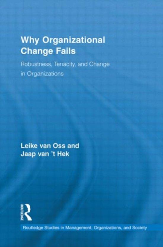 Boek cover Why Organizational Change Fails van Leike van Oss (Hardcover)