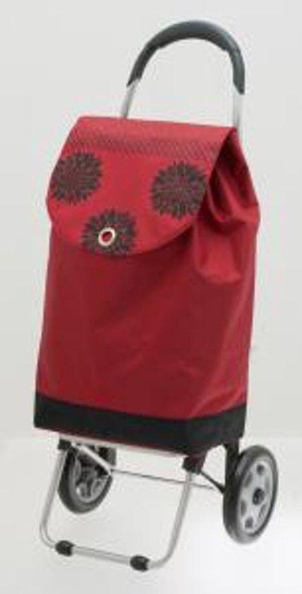 Secc Adelaide boodschappenwagen trolley rood