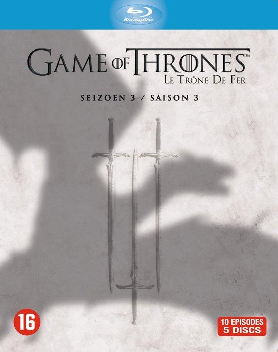 DVD cover van Game Of Thrones - Seizoen 3 (Blu-ray)