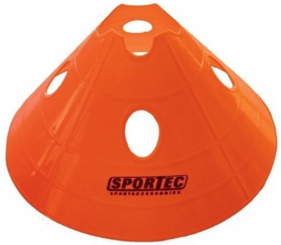 Amigo Afbakenbollen Prof Groot Soft Plastic 10 Stuks Oranje