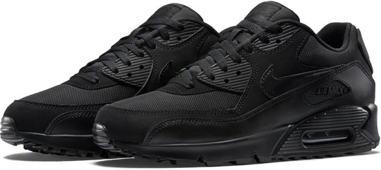 Nike Air Max 90 Essential Sneakers Heren - Black/Black-Black-Black