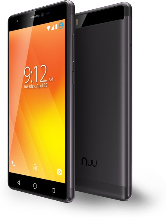 Nuu Mobile M3 - 16GB - Zwart