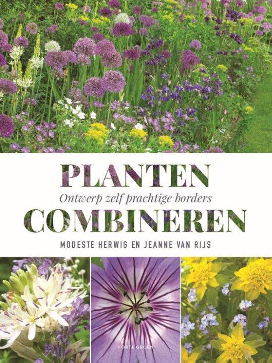 Boek cover Planten combineren van Modeste Herwig (Hardcover)