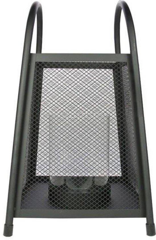 Lantaarn XL 27x28x45cm Zwart