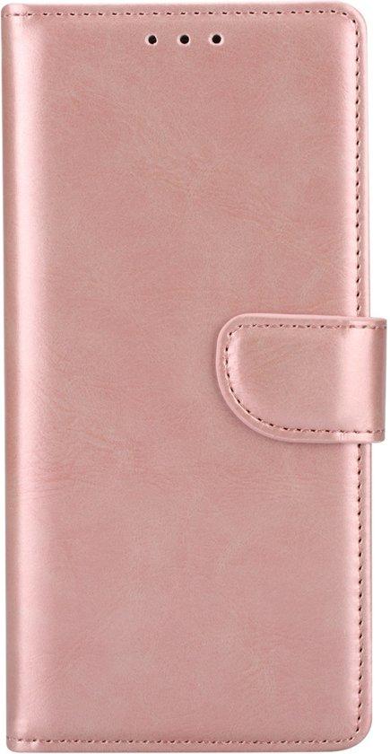 Hoesje voor Samsung Galaxy S8 G950 - Book Case - geschikt voor 3 pasjes - Rose Goud