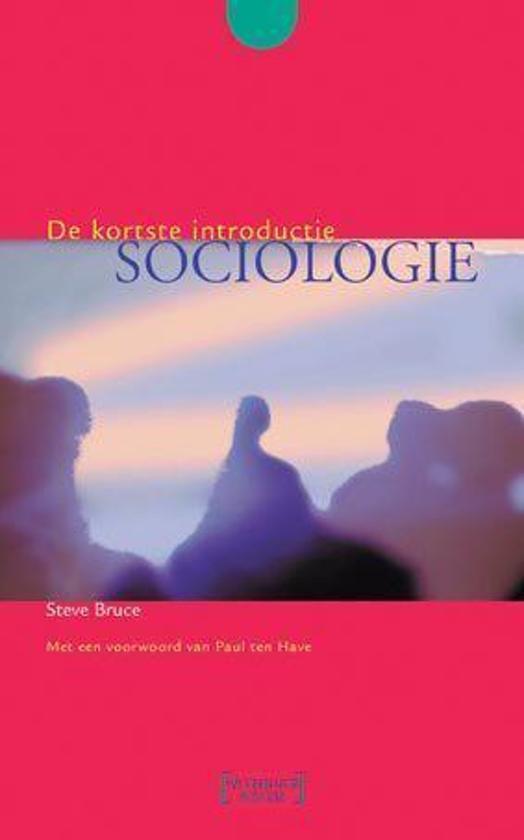 Sociologie - Steve Bruce pdf epub