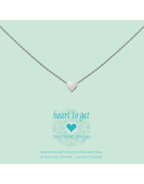 Heart to get Initial, silver, symbol heart
