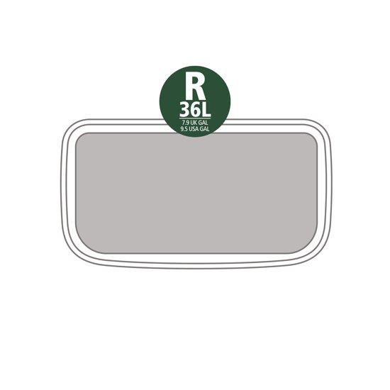 Brabantia Bo Pedal Bin 36 Liter Platinum
